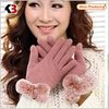 2015 winter gloves canada,custom embroidered ,warm gloves with fur