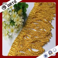 Decorative Trims curtain Bullion Beaded Tassel Fringe for home textile