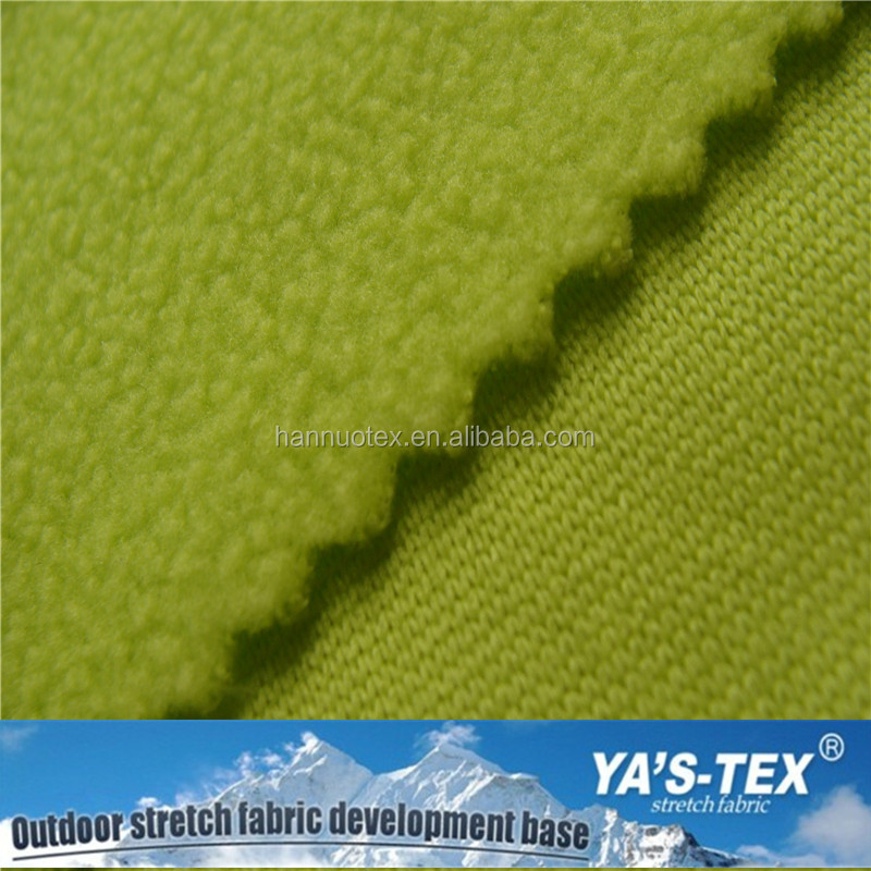 Manufacturer china Softshell 4 Way Spandex Polyester Stretch Knitting Fabric Textile