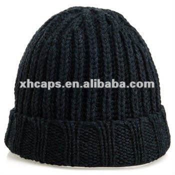 hot promotion cotton acrylic beanies