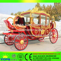 Romantic wedding mini royal horse carriage for sale