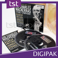 TST Exporters High Quality Print And Pack Two Tray Blank CD DVD Digipak
