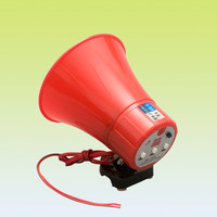 Megaphone with music, 15Watts Hand Portable Megaphone