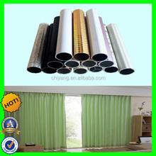 2015 new design curtain rod for PVC coated