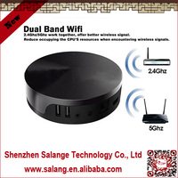 New 2014 made in China XBMC quad core amlogic m8 mk-808 android media player google tv box by salange