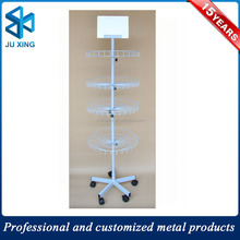 Manufacturers direct sales retail display rack tie display rack metal rotating display stand