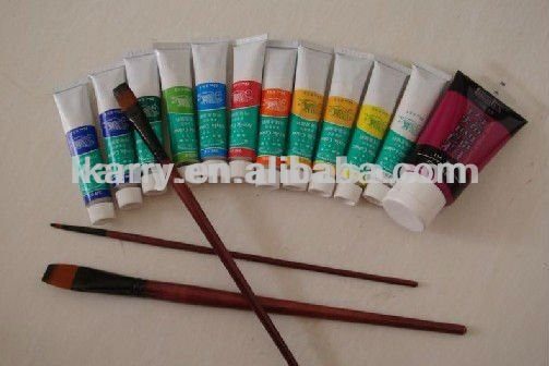 Acrylic Paint Set (24 colours) non toxic and easy dry
