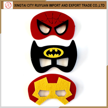 HOTHOT HOT!!! superhero felt mask for kids party favors ,dressing up felt mask