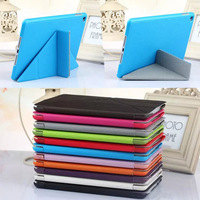 New Transformers Smart Cover Magnetic Leather Case for iPad mini