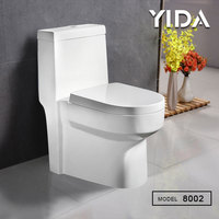 customer toilet brand new model ceramic ivory color one piece toilet unit