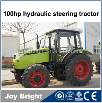 100HP tractor 4wd 1004 with cabin FEL