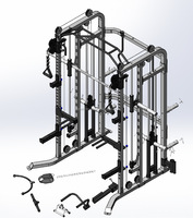smith machine multi home gym for sale