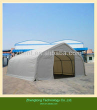26*8M Steel frame PVC double-faced big tent