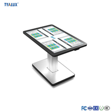 Smart LCD Dinning Table Full High Definition Multi-touch Interactive