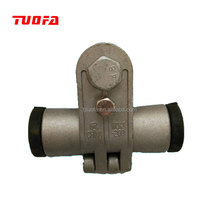 Electric Line Fittings Overhead 11KV 33KV Cable Line Galvanized Suspension Set Clamp For ADSS OPGW Line Hardware