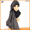Wholesale cotton lace floral hijab shawls muslim scarves