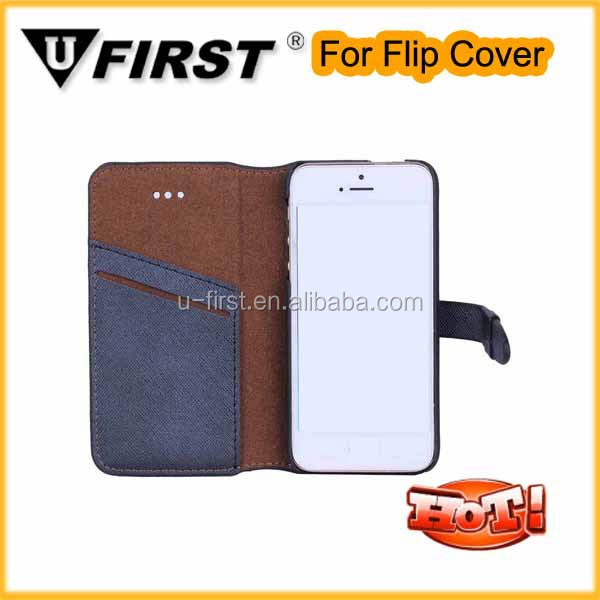 Wallet PU Leather Case Flip Cover Built-in Card Slots & Stand + Free Screen Protector & Stylus Pen