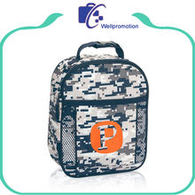 Digital camo thermal insulated lunch cooler bag zero degrees inner cool