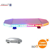 2014 Best Quality Led Mini Lightbars with Luminous LED and Strengthened PC Dome