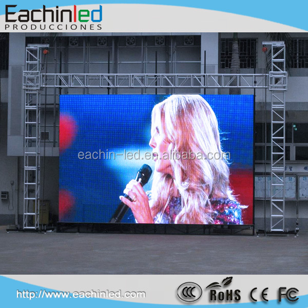 Projector screen p4.8 Full color rental led display screen