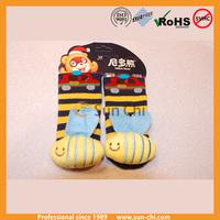 unique design cotton 3d baby socks infant baby doll socks