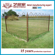 iron fence for garden/iron fence dog kennel/wrought iron fence