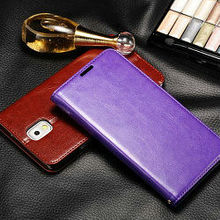 new arrival popular customized factory original leather case cover for samsung galaxy note3