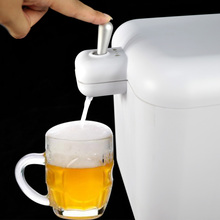 home party ultrasonic beer foam tower dispenser device ,foam beer can cooler,beer can dispenser new goods in 2018