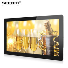 20inch Android system touchscreen monitor media ad player with full hd 1080p screen