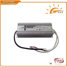 constant voltage ip67 waterproof 24v 230v dc power supply 100w