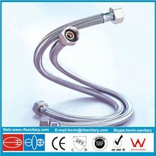 stainless steel braided flexible hose for bath faucet/for bathroom /for hotwater