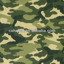 Camouflage print pigment print fabric for italian military