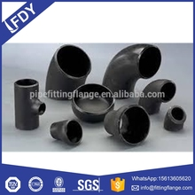 ASTM B16.9 A234 WPB BW Sw samless pipe fittings,elbow tee reducer bend cap/carbon steel
