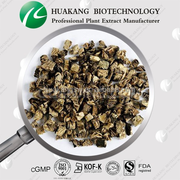 ISO/GMP factory supply black cohosh Cimicifuge racemos Vernonia aspera extract powder Triterpene Glycosides 2.5%, 5%, 8% CADY