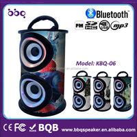 Cool spider-man outlook color bluetooth speaker wood radio full hd led projector speaker system