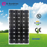 Most Popular 160w poly solar panels with high efficiency 100w