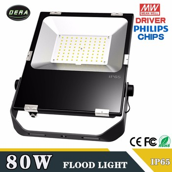 Hot selling 2017 80w 90W IP65 Waterproof Spotlight Lamp Gardden Street Outdoor led floodlight Lighting 80 watt 110-277v