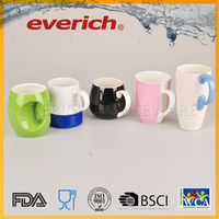 Factory custom diversity paintable ceramic coffee mug