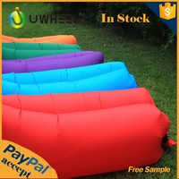 2016 hottest fast inflatable air lounge sofa for outdoor usage