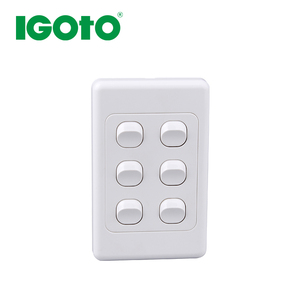 AS312-V 10A vertical wall switch 6 G 2 way SAA approved New Zealand australian standard