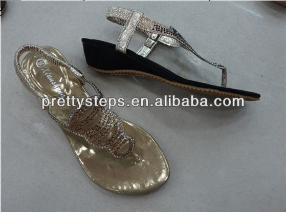 Pretty Steps 2013 latest sandals designs for woman