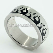 2013 fashion stainless steel finger rings middle size