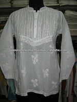 Lucknow Chikan / Fashion Chikan Tops