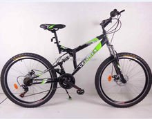 26 Green new model suspension bike for hot sale HL-M082