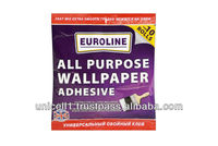 EUROLINE - ALL PURPOSE WALLPAPER ADHESIVE for 3, 6, 10 rolls