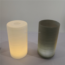 Factory Sales Wholesale Cylinder Glass Lamp Shade Frosted Glass Lamp Shade Opal White Glass Lamp Shade White Amber Smoke Clear