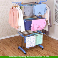Competitive Price 3 Tier Indoor Outdoor Extra Large Clothes Airer Folding Portable Clothes Drying Rack