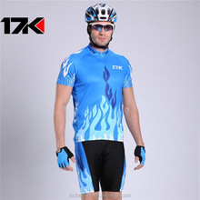 New 2015 Men Cycling Jersey Clothing Set Short Sleeve Jacket Gel Pad Shorts Kit Summer Bicycle Sport