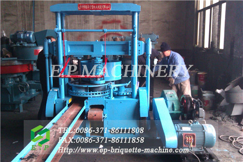 BBQ charcoal briquettes forming machine / BBQ honeycomb making equipment best selling in USA