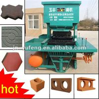 Compress Earth Soil Brick Making Machine--DMYF500
